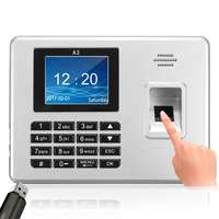 Biometric Fingerprint Time Attendance Clock Recorder Employee Recognition Device Electronic Machine Fingerprint Usb Sensor