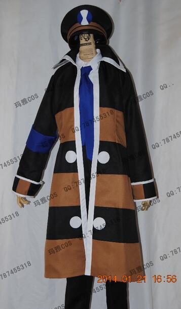 2016 Pocket Monster Hot White and Black Version Subway Master Anime Cosplay Costume Custom Made Uniform