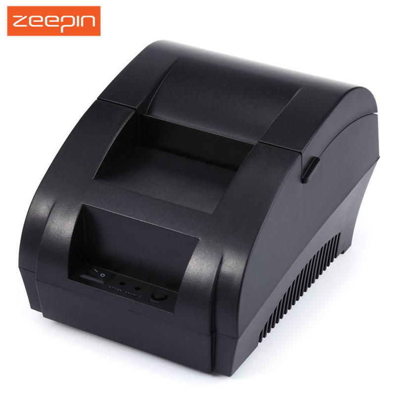 Prix pour Portable 58mm USB POS Réception Imprimante Thermique En Ligne Faible Bruit Convient pour Tous Les Types de Systèmes POS pour le Supermarché