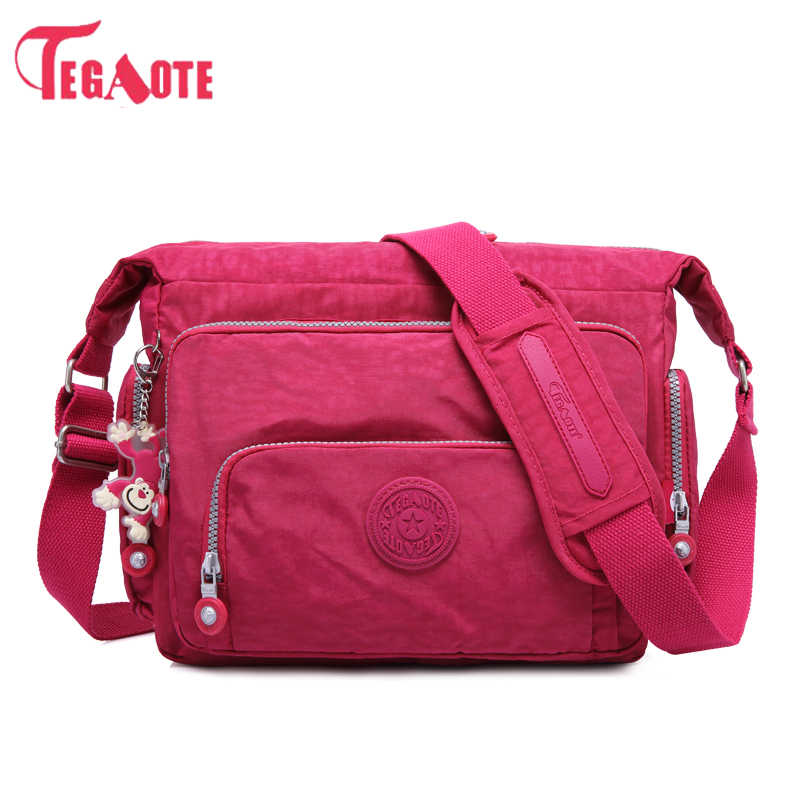 a1d596ab65e Detail Feedback Questions about TEGAOTE Luxury Women Messenger Bag ...