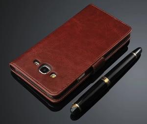Image 3 - Чехол для Samsung Galaxy J5 J500 J7 J700 2015, роскошный флип кошелек, Кожаные чехлы в стиле ретро для Samsung J5 J7 2015 2016 J510 J710, чехол