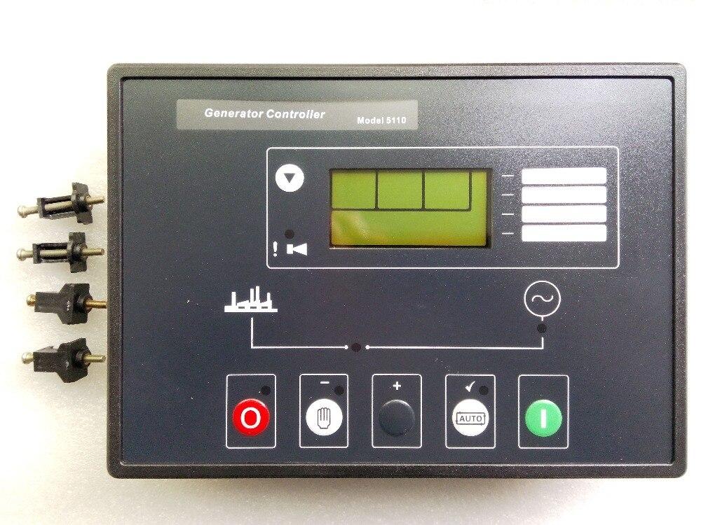цена LCD Display Deep Sea Auto Start Control Module 5110 replace Generator Controller DSE5110 в интернет-магазинах