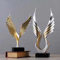 decoration style simple modern Home Furnishing jewelry TV cabinet cabinet office gifts A great hawk spreads its wings