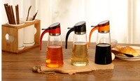 1PC 500ml Large Capacity Glass Oil Bottle Prevent Oil Spill Oil Vinegar Sauce Bottle Pot Kitchen