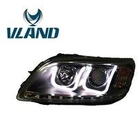 VLAND Factory For Car Head Lamp For Malibu Headlight 2012 2013 2014 2015 Malibu LED Head Light With DRL H7 Xenon Lens Waterproof