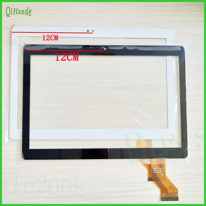 White New 10.1'' inch Touch Screen Digiziter YLD-CEGA442-FPC-A0 For Tablet PC External Sensor Replacement Part Free Shipping for sq pg1033 fpc a1 dj 10 1 inch new touch screen panel digitizer sensor repair replacement parts free shipping