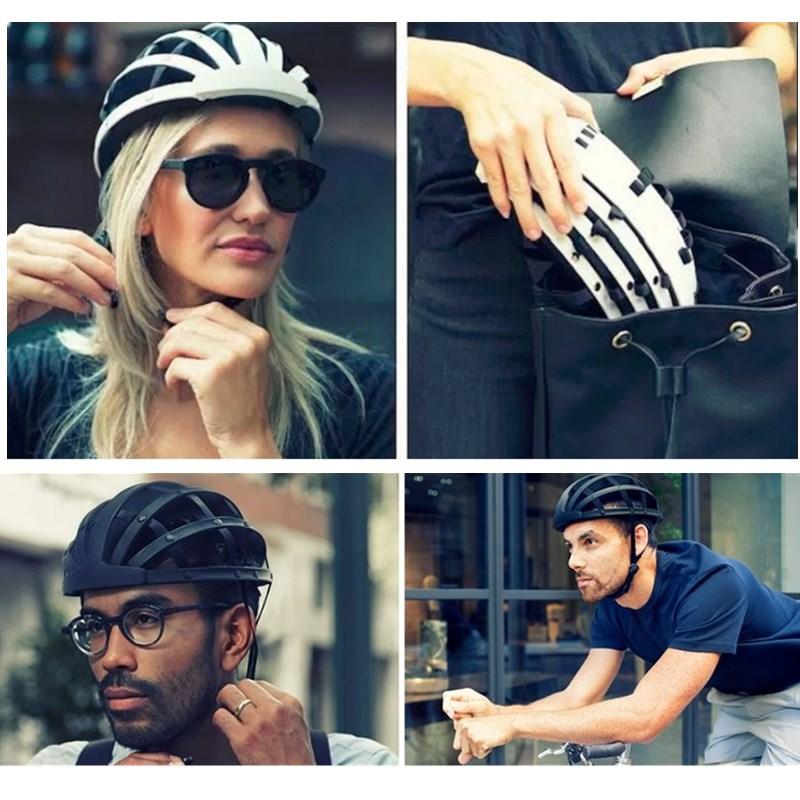 Foldable 2017 New Cycling Helmet Lightweight Portable Safety Bicycle Helmets City Bike Sports Leisure Bike Helmet Casco Ciclismo 6