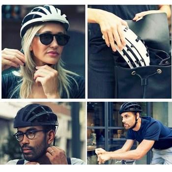 Foldable 2017 New Cycling Helmet Lightweight Portable Safety Bicycle Helmets City Bike Sports Leisure Bike Helmet Casco Ciclismo 11
