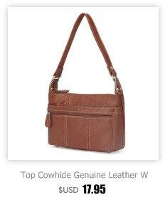 e9420285fab4 HOT SALE] 100% Top Cowhide Genuine Leather Women Messenger Bags ...