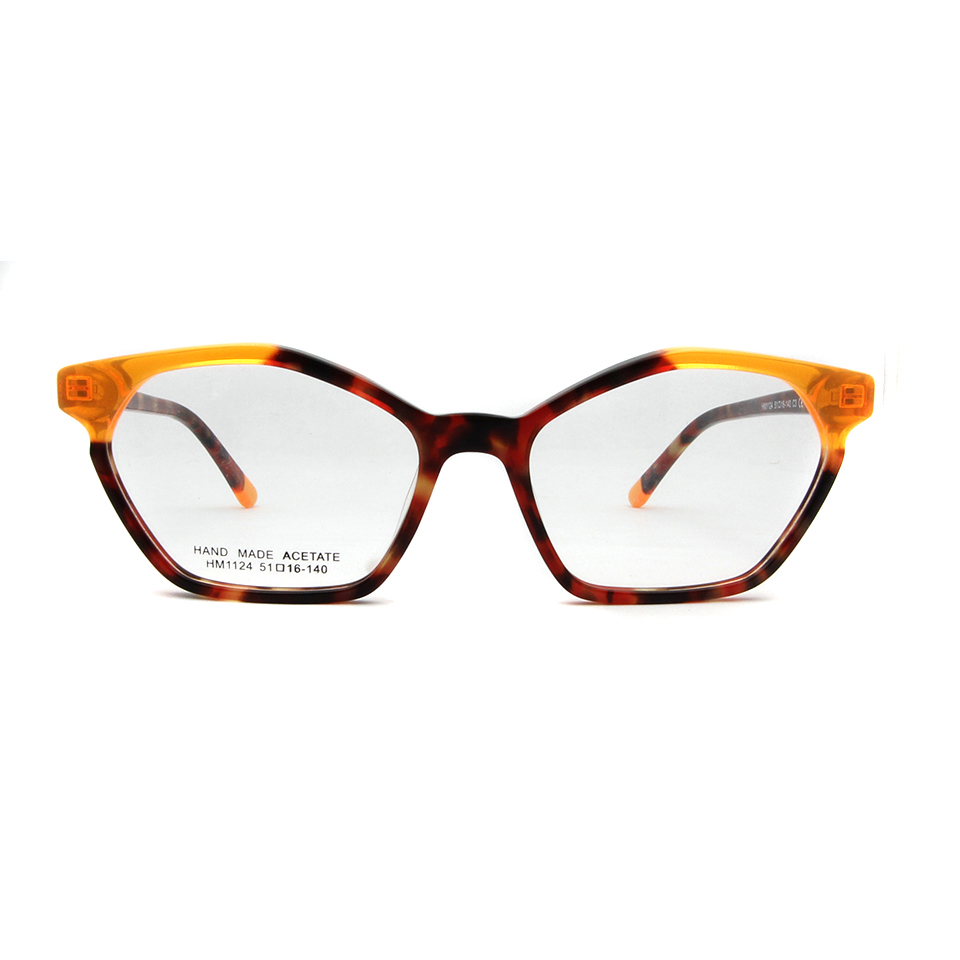 ESNBIE acetato diseñadores elegante marco miopía mujeres gafas de ...