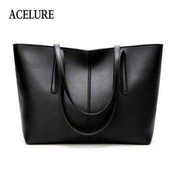 22bb71fc1be6 ACELURE мягкие из искусственной кожи сумка для Для женщин Solid  High-Ёмкость Повседневное сумки женские универсальные сумка женская сумка