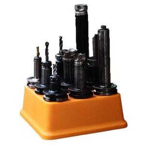 Image 5 - Boîte de collecte mallette de rangement en plastique pour porte outils CNC, boîte de collecte 1 pièce bt40 bt30 BT40 BT50, boîte de collecte