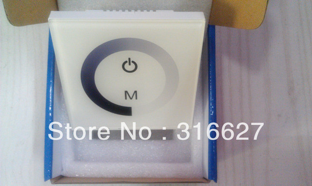 5pcs 12-24V LED Panel Touched Controller Dimmer use for 5050 or 3528 single color strip light