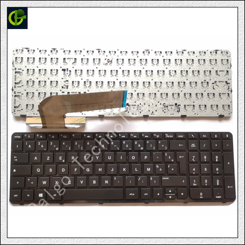 French Azerty font b keyboard b font for HP Pavilion 15 r201nf 15 r202nf 15 r203nf