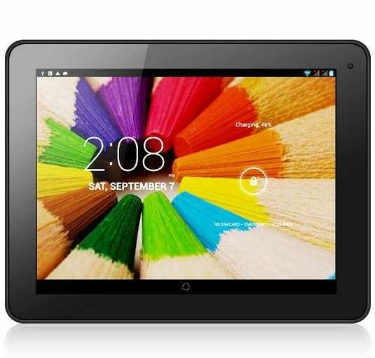 100 unids/lote Android 4,2 teléfono 3G Tablet PC de 9,7 pulgadas MTK8389 Quad Core 1,2 GHz 8 GB ROM Dual cámaras HDMI Bluetooth GPS AnalogTV