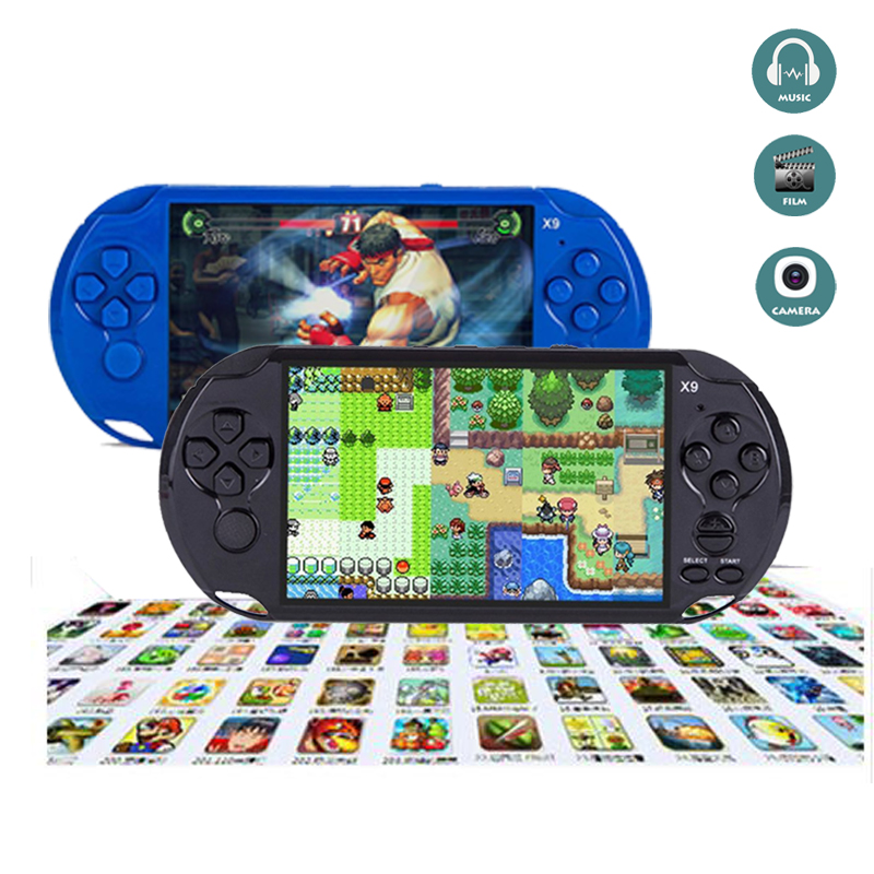 font b Portable b font X9 Game Player Built in 500 Classic Games Support font