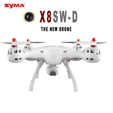 цена на Syma X8SW-D Selfie RC Drone with Adjustable 720P WIFI FPV Camera Quadcopter Altitude Hold RC Professional RTF Helicopter VS B3