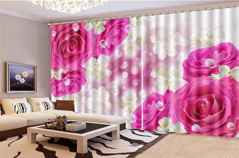 3d Print Curtians For Living Room Price Dreamy And Beautiful Flowers Customize Your Favorite Beautiful Blackout Curtain For You