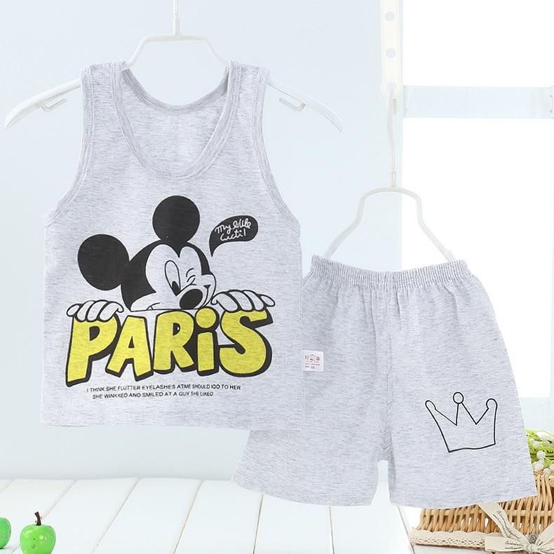 URFine-Girls-Boy-Clothes-Cartoon-Cat-T-Shirt-Short-ChildrenS-Suits-Clothing-Set-Girls-Set-Girls-Suit-ChildrenS-Clothing-1