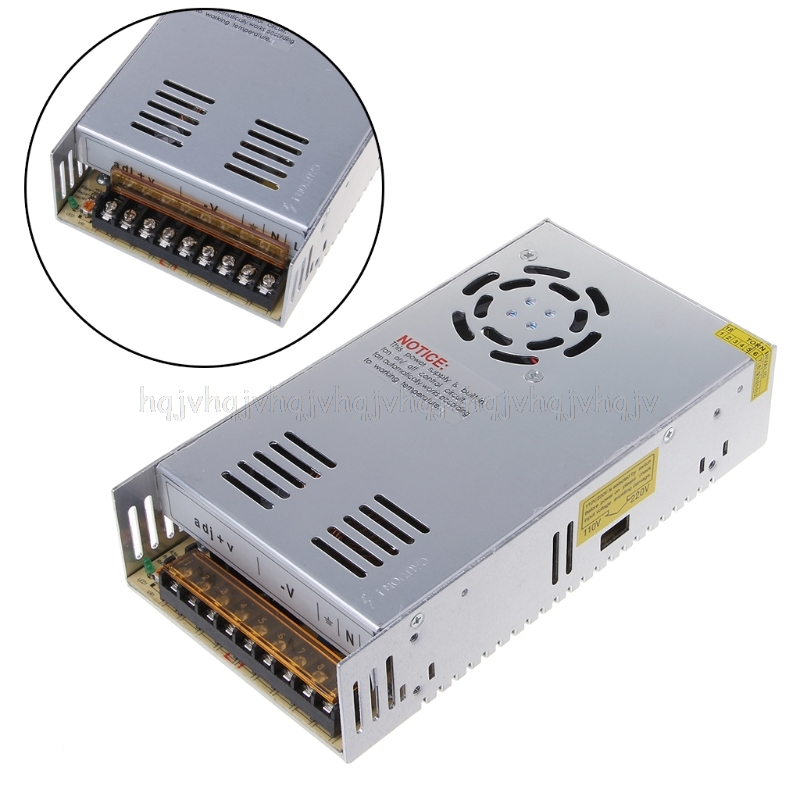цена на 12V 30A 360W Switching Power Supply Driver Adapter LED Strip light transformer JUN20 dropship