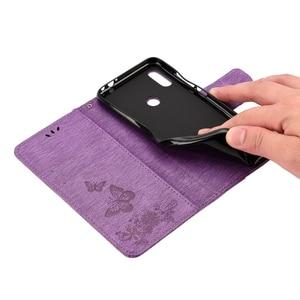 Image 5 - Redmi Nota 7 Cassa Del Telefono di Vibrazione per Funda Xiaomi Redmi Nota 7 Caso Della Farfalla Della Copertura del Cuoio per Xiaomi Redmi Non 7 Pro Custodie Capa
