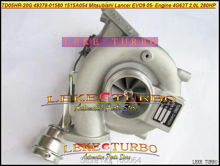 TD05HR-20G 49378-01580 1515A054 TD05HR Turbo Turbocharger For Mitsubishi LANCER EVO9 Evolution 9 80 2005- 4G63 4G63T 2.0L 280HP автомобиль mitsubishi lancer evolution 8