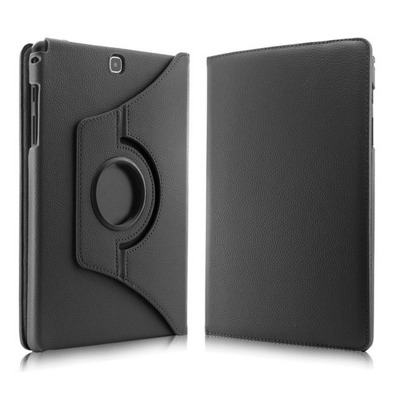 For Samsung Galaxy Tab A 9 7 T550 T555 PU Leather 360 Rotating Stand Case Cover