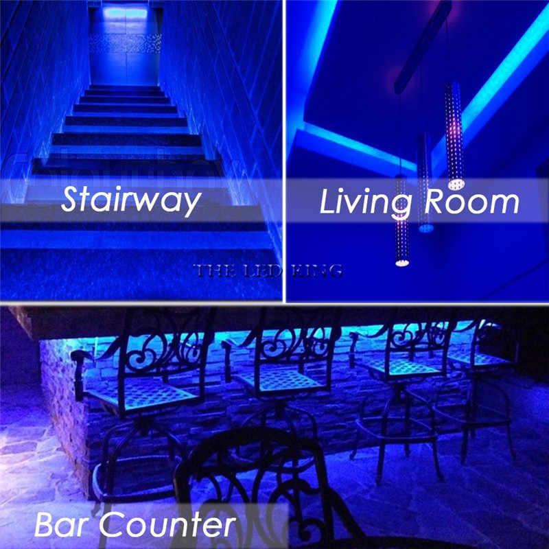 LED Strip Lampu LED RGB SMD5050 Fleksibel LED Garis Tahan Air 1 M 2 M 3 M 4 M 5 M tape Diode DC12V + Adaptor Uni Eropa/Kami Menggunakan untuk Muda