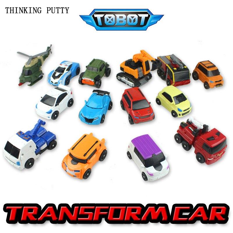 Tobot Brothers 1, 2 Generation Deformation Mobilization Toys Deformations Car Tobot Brothers Toys Model For Children Best Gifts