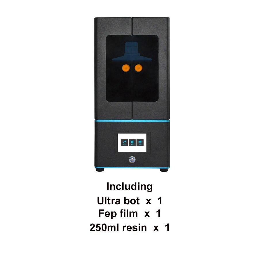 Tronxy Photon imprimante 3D grande taille UV LCD/SLA assemblé 2 K écran hors ligne taille d'impression 130*73*180mm/120*67*180mm