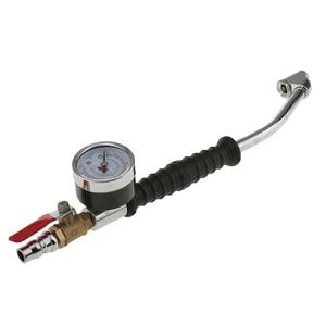 Image 2 - 220PSI Air Tyre Pressure Inflator Gauge Valved Compressor Car Van Bike Tire Inflador neumatico calibrador de presion Auto Parts