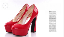 Hot Anime de ONE PIECE Boa Hancock Cosplay Zapatos Rojos Zapatos de tacón alto Bombea 3 Colores Cualquier Tamaño Libre gratis NUEVO
