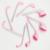 Cepillo de Dientes suave de Oro Rosa Oval En Forma de Golf Pincel de Maquillaje Líquido Fundación Corrector crema BB Polvo Colorete Cosmética Mezcla Cepillo