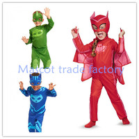 2017 New High Quality PJ Mask Hero Of Children Cosplay Costume And PJ Masks Cosplay Costume