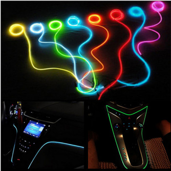 2m Car Interior LED Cold light Stickers For Mercedes Benz W201 A Class GLA W176 CLK W209 W202 W220 W204 W203 W210 W211 W222 X204 image