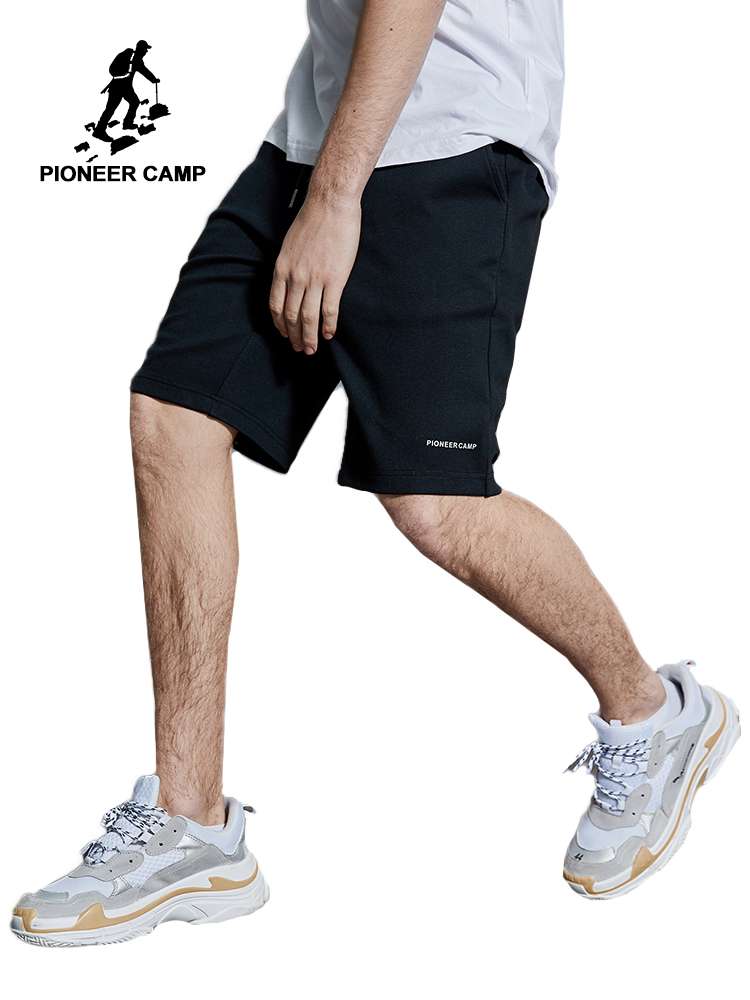 Pioneer Camp 2019 Men's Casual Summer Shorts Sweatpants Male Fitness Bodybuilding Workout Man Fashion Crossfit Short ADK901194