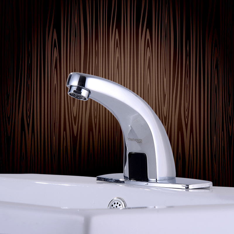 Water Saving Hands Free Hot And Cold Automatic Infrared Sensor Faucet Bathroom Sink Tap Touchless Bathroom Faucet Brass