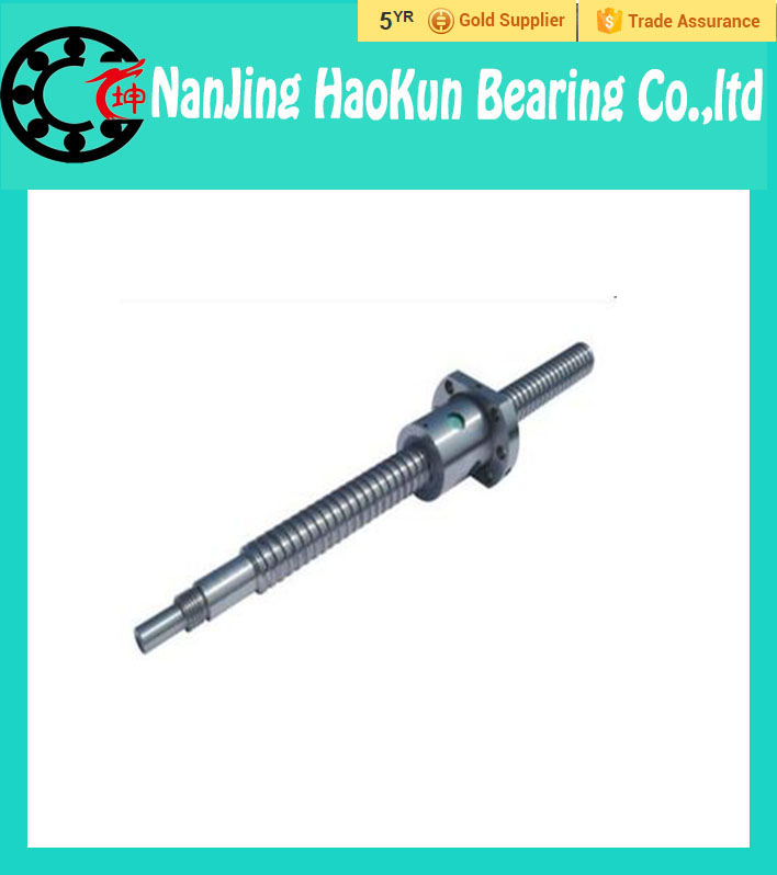 ФОТО Rolled Ballscrew 1610 -L 500mm DFU1610 ball screw + Double ballnut