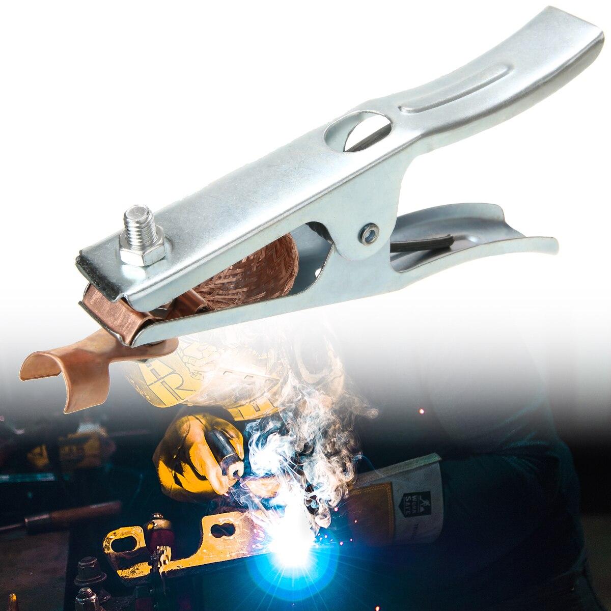 300 ампер Заземляющий зажим держатели электродов для профессионального использования сварочный Ручной сварщик 175 мм сварочный Заземляющий ...