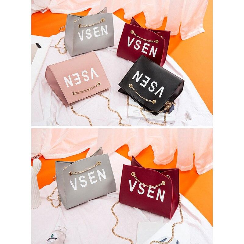 1 Pcs Women Lady Girl Shoulder Crossbody Bag Chain PU Fashion For Mobile Phone Popular