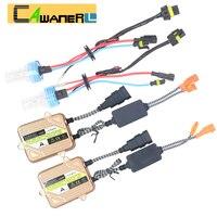 Cawanerl 55 W Auto H1 ESCONDEU Xenon Lastro Kit de Conversão de Luz lâmpada 4300 K 6000 K 8000 K Farol Do Carro luz de Nevoeiro de Circulação Diurna luz