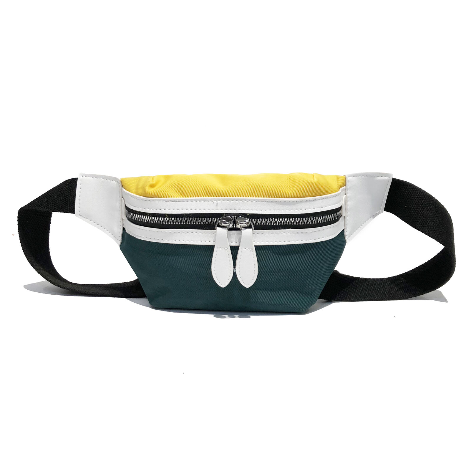 New College Wind Waist Bag Female Fanny Pack Fashion Contrast Color Heuptas Chest Bag