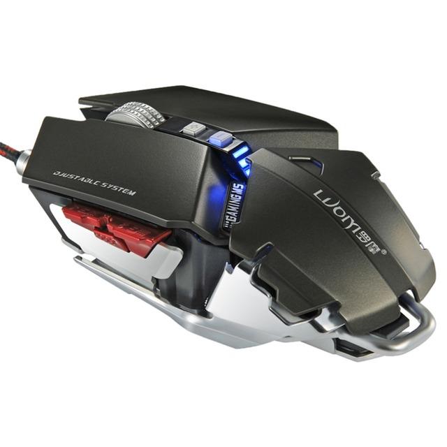 NUEVA Velocidad Fotoeléctrico G50 Completo trenzada Wired Gaming Mouse Con 4000 DPI EN STOCK!