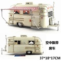 Classical Car Model Toys Caravan/Camper Handmade Metal Artefact Model Toy For Collection/Gift/Decoration/Kids