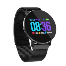 T5 Smart Bracelet Full Color Screen Fitness Activity Tracker Heart Rate Monitor BP SpO2 Pedometer IP68 Waterproof Watch(China)