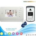 Chuangkesafe XSL-V43B3-ID Fabricante venda Quente 4.3 Polegada ID rfid apoio Handfree 4 Fios Interfone Telefone Video Da Porta Para Villa