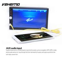 Vehemo Double Din Car MP5 Player 7 Inch Touch Screen Auto Support FM Radio Blutooth Contact