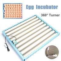 360 Degree Chicken Eggs Turner Automatic Incubator Duck Quail Bird Poultry Eggs Tray Farm Incubation Tools Supplies Blue