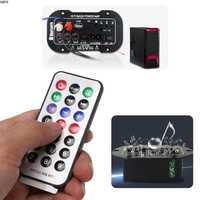 Hohe Qualität 1 Set Universal 25W Auto Auto Stereo Bluetooth Subwoofer Hallo-fi Bass Verstärker Bord Audio TF USB 220V /12 V/24 V