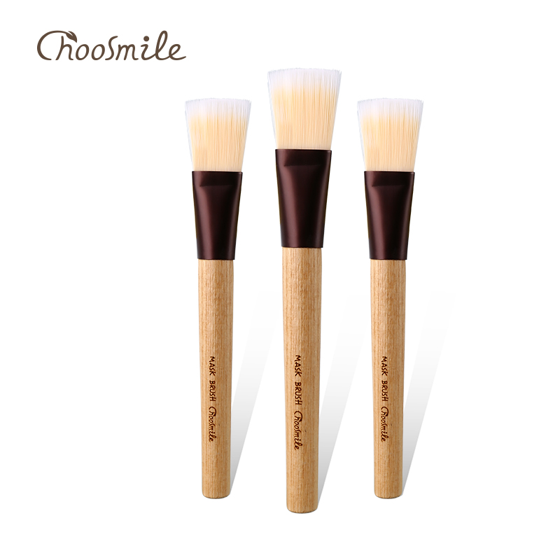 Choosmile 1pc Professional Makeup Brushes Mask Brush Handmade Facial Eye Makeup Face DIY Mask Brushes Cosmetic Beauty Tools
